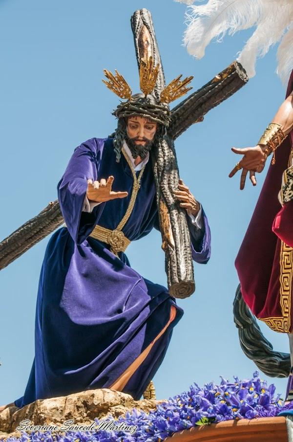 Se suspende el Pregón y el Traslado de Tres Caidas para el Vía Crucis en San Fernando
