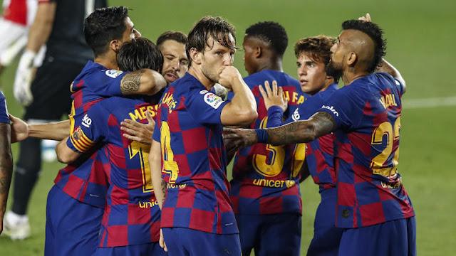 برشلونة ضد فياريال: الدوري الأسباني : أخبار المباراة بين برشلونة وفياريال والقنوات الناقلة