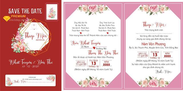 Tải mẫu thiệp cưới