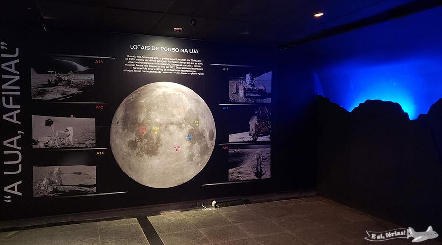Exposição temporária - Planetário da Gávea