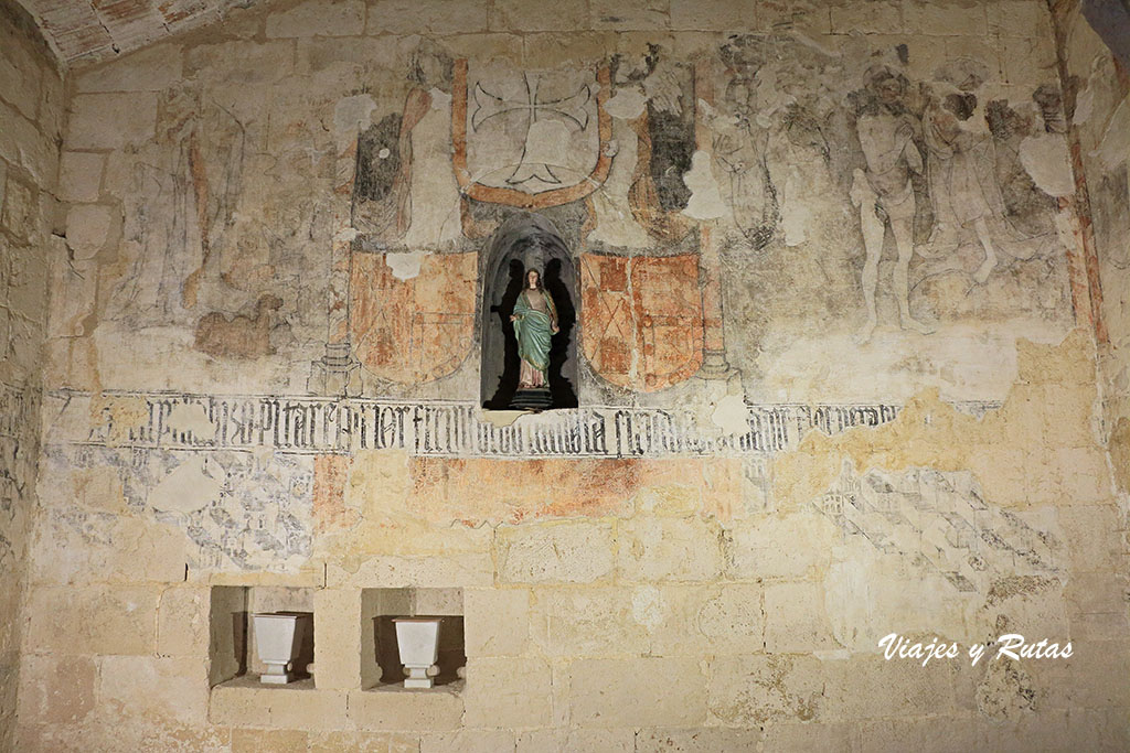 Capilla de Doña Urraca de Iglesia de Santa María de Wamba