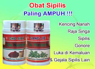Obat Sipilis/Raja Singa dan Kencing Nanah/Gonore Ampuh