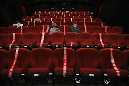 Theaters opening soon with seat distancing after lockdown