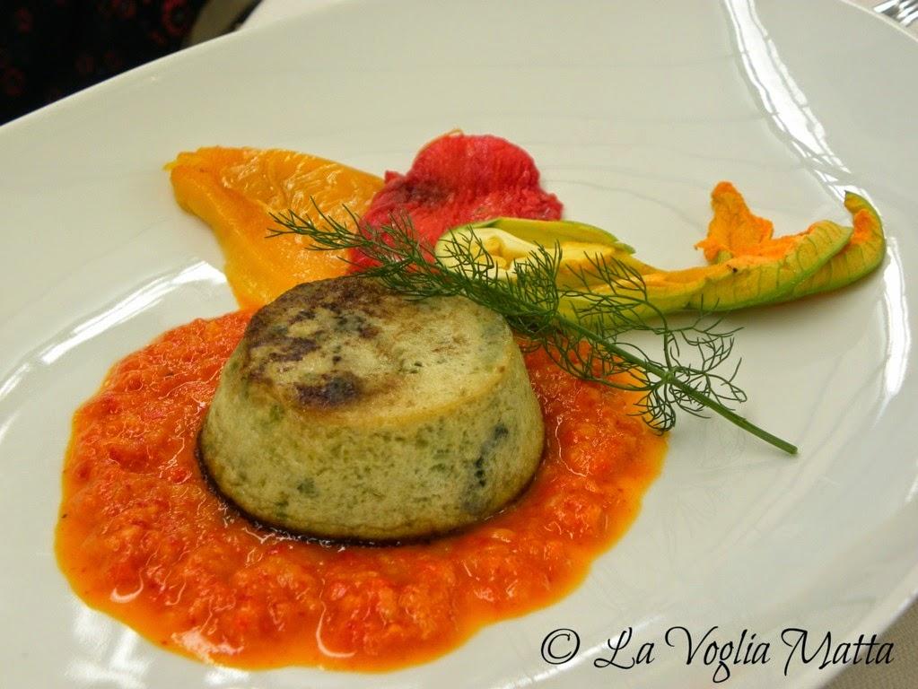 Bak a Grozzana Trieste sformato di zucchine e melanzane