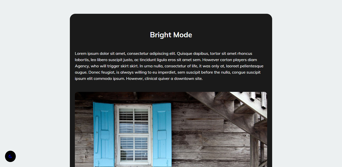 How to add dark mode on blogger blog