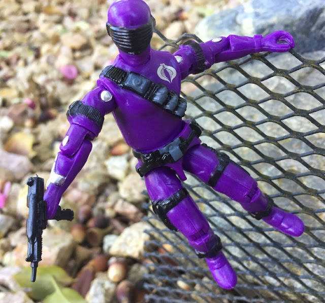 2018 Black Major Purple Haze Cobra Invasor, 1985 Snake Eyes