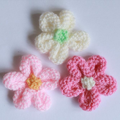Knitted Flower Tutorial