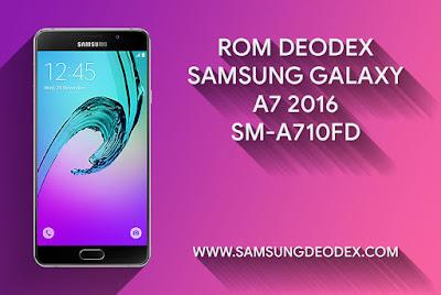 ROM DEODEX SAMSUNG A710FD