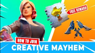 Creative Mayhem in Fortnite, Earn free rewards, dates and how to participate