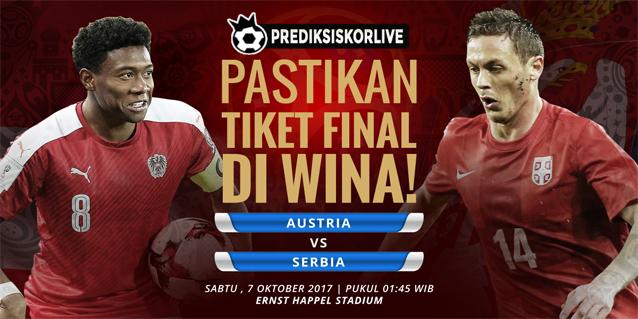 PREDIKSI BOLA Austria vs Serbia
