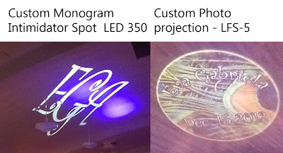 Custom Gobo for your Weddings or Events!