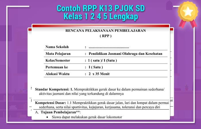 RPP K13 PJOK SD
