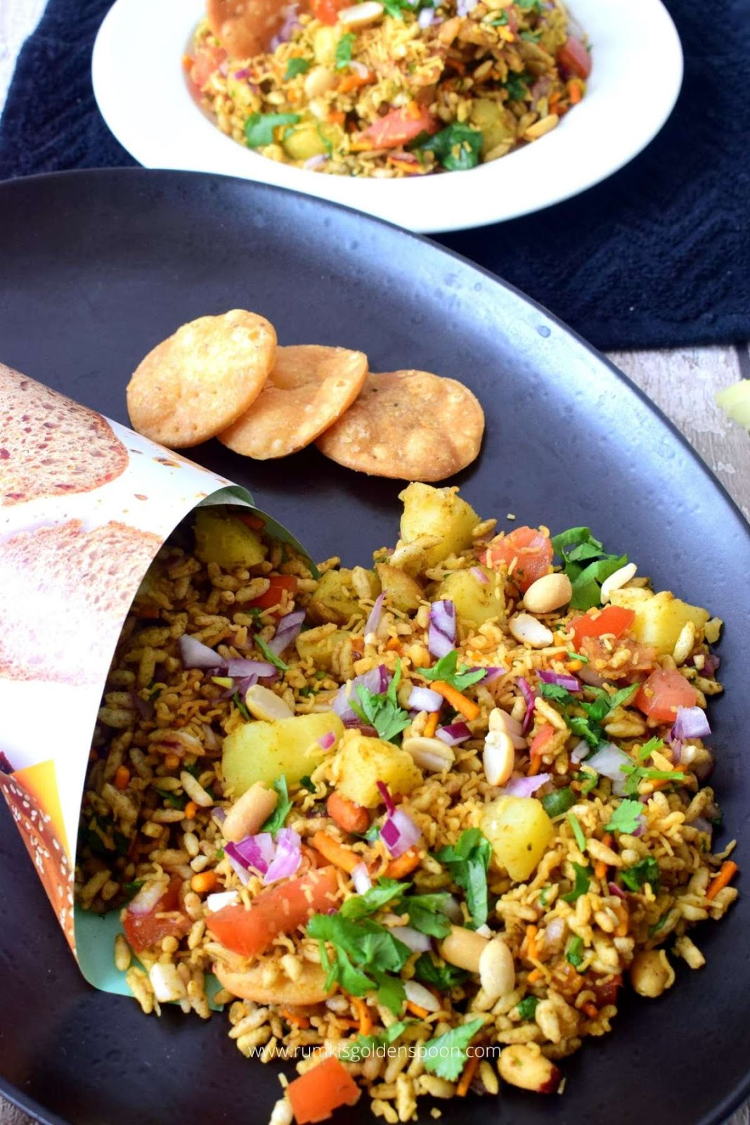 bhel puri, bhelpuri, bhel poori, Mumbai bhel puri, bhelpuri recipe, recipe for bhelpuri, recipe of bhelpuri, bhel recipe, bhel puri chaat, puffed rice snack, puffed rice snacks, snacks with puffed rice, bhel puri recipe, recipe for bhel puri, recipe of bhel puri, bhel puri how to make, Indian chaat recipe, Indian chaat recipes, chaat recipe, recipe for chaat, recipes of chaat, chaat papdi recipe, chaat recipe Indian, indian street food, list of indian street food, recipes for Indian street food, recipes of Indian street food, best Indian street food recipes, Indian street food recipes, Indian snack recipe, Indian snack recipes, Indian snacks recipes for evening, Indian snacks easy recipes, Rumki's Golden Spoon