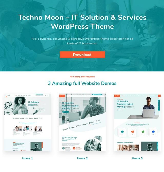IT Solution & Services WordPress Theme