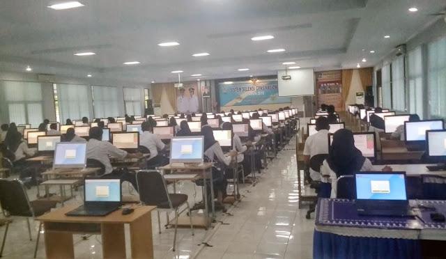 Pelaksanaan Tes CPNS di Lumajang