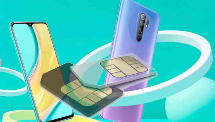 Ganti internet SIM 1 dan SIM 2 Redmi note 8 dan 9