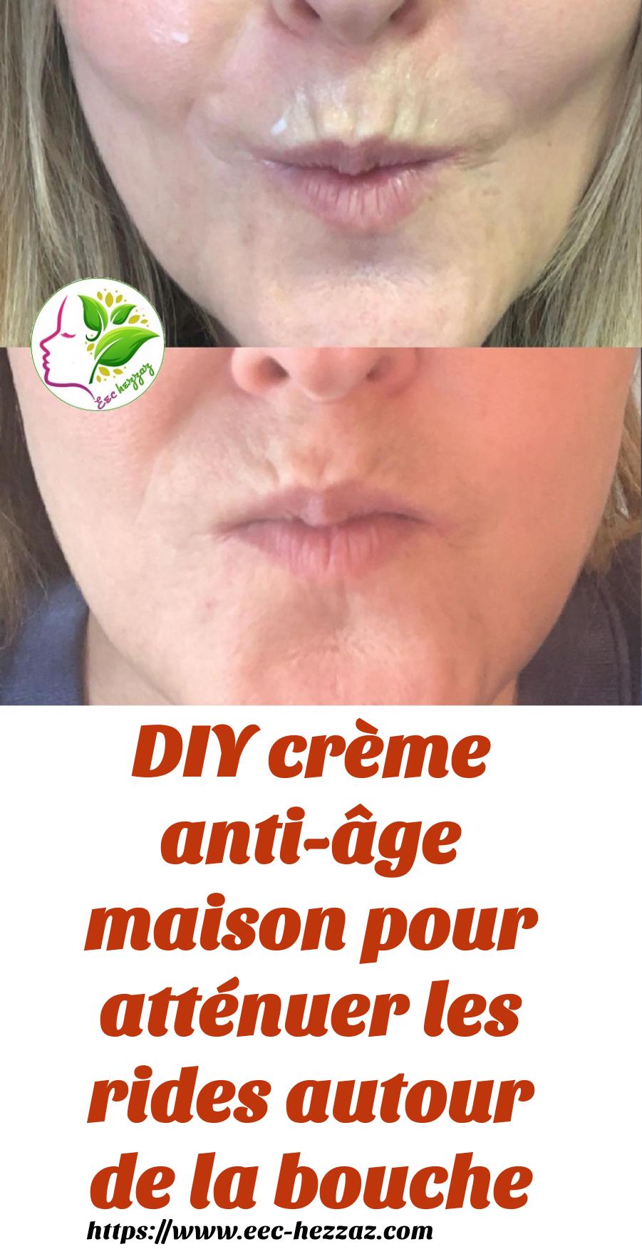 DIY crème anti-âge maison pour atténuer les rides autour de la bouche