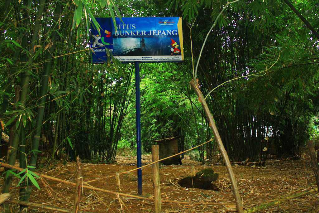 Pulau Unik di Makassar lakkang wisata asejarah bungker jepang