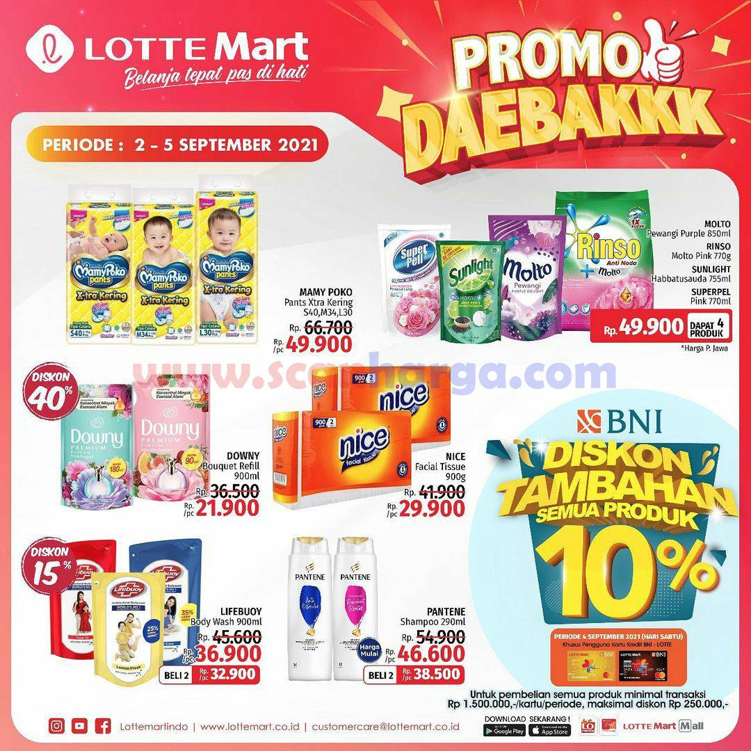 Katalog Promo Lottemart Weekend 2 - 5 September 2021 6