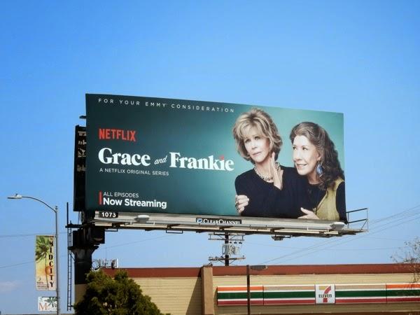Grace and Frankie Netflix billboard