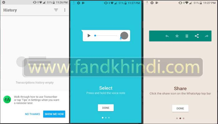 Transcriber for WhatsApp (Unreleased)-7 Must Have Android Apps For WhatsApp Users in 2020