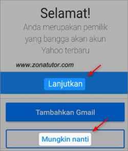 Cara Daftar Yahoo Mail Baru Lewat Hp Android
