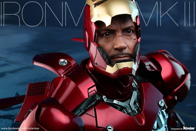 Esta es la increible Hot Toys Iron Man - Mark III
