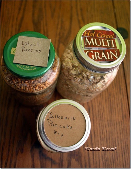Lazy Budget Chef How To Use Free Mason Jars As Kitchen