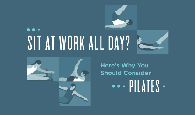 Sit At Work All Day? Here's Why You Should Consider Pilates