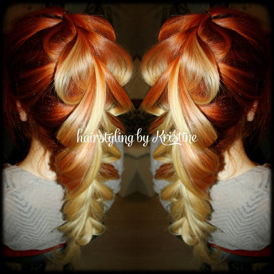 Impressive Hair Creations By Kristine Kl Tartu Estonia
