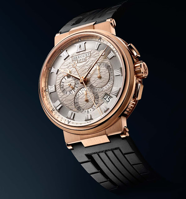 Breguet Marine Chronograph 5527 in rose gold