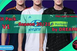 NEW Kitpack Season 2020/2021 V1 - PES 2020