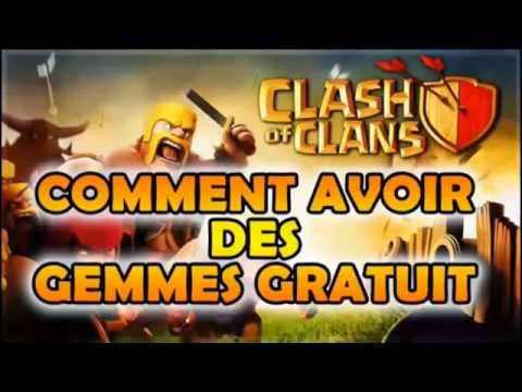 Clash of Clans Triche Pirater Gemmes illimite - 2014