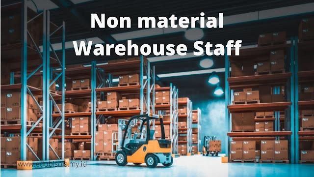 Non material warehouse staff