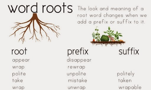 In plain english so many prefixes and suffixes