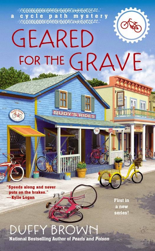 Review: Geared for the Grave by Duffy Brown