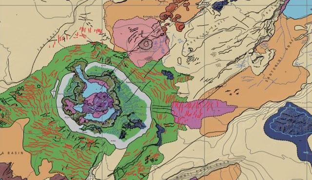 Σαντορίνη: Ο πρώτος υποθαλάσσιος γεωμορφολογικός χάρτης... από άλλο πλανήτη
