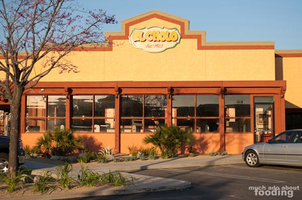 El Cholo Restaurant In Anaheim Hills Menu
