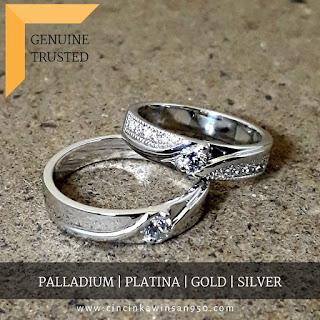 cincin kawin tunangan nikah pasangan couple