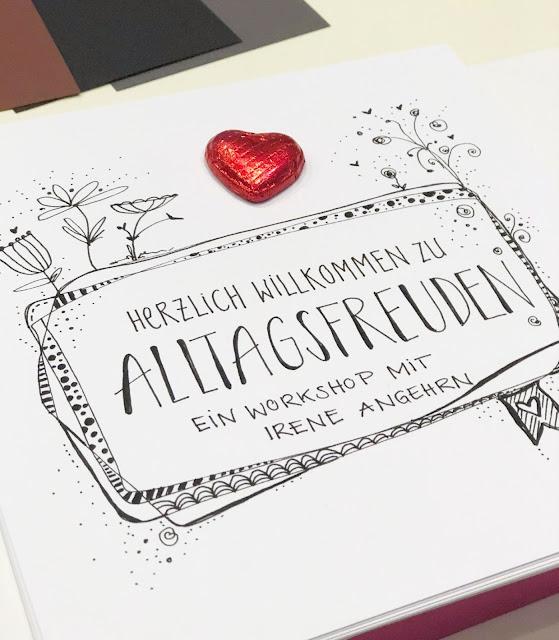 mit Strich und Faden: Alltagsfreuden Workshop Booklet