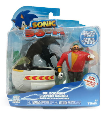 TOYS : JUGUETES - SONIC BOOM  Doctor Eggman & eggmobile : Figura - Muñeco + Vehiculo  Producto Oficial Serie Television | Bizak - TOMY | Edad: +4 años  Comprar en Amazon España & buy Amazon USA