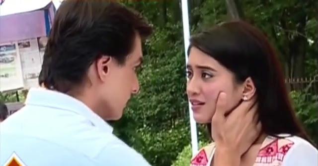 Naira and Kartik's kiss vala romance