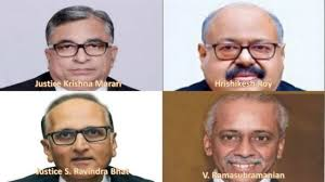3- Supreme Court gets four new judges taking total strength to highest-ever of 34