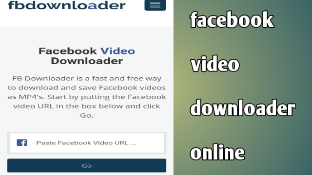 facebook-video-downloader-online