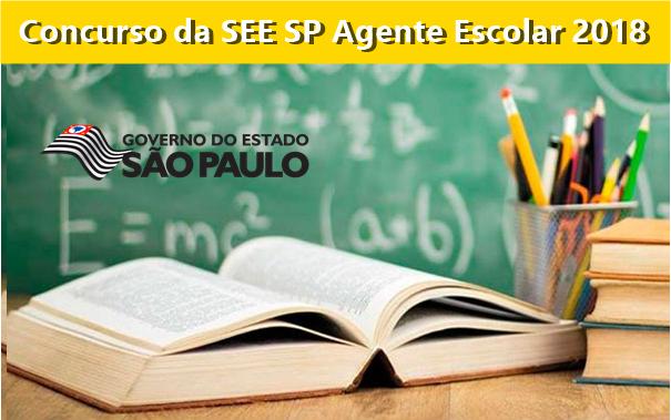 Concurso Agente Escolar da SEE SP 2018: Edital sai pela CKM