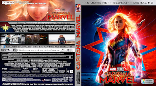 CAPTAIN MARVEL – CAPITANA MARVEL – 2019 [COVER – 4KUHD]