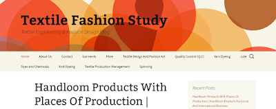 Top Listed Textile Blogs and Websites on the Web | Textile Fashion Study