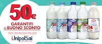 Logo Buoni sconto da 50 euro garantiti con GranaroloUnipolSai