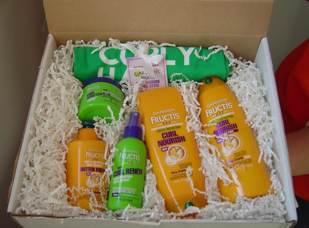 Garnier Fructis Triple Nutrition Curl Nourish Collection in box