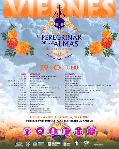 programa festival peregrinar de las almas